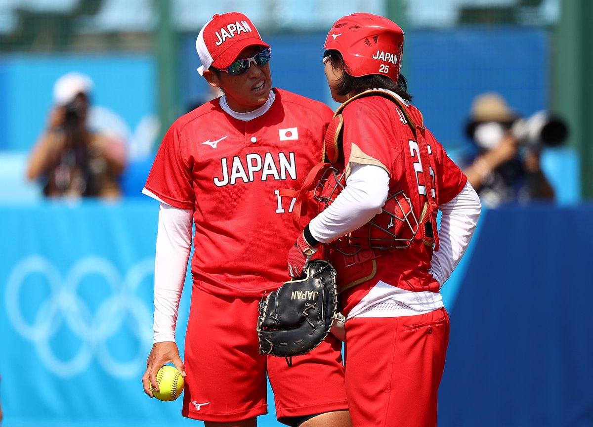 #Tokyo2020 ソフトボール   オーストラリア  1-8 日本代表   大会開幕戦は、日本代表が勝利✨  @JSAteamJAPAN @Tokyo2020jp  #Olympics
