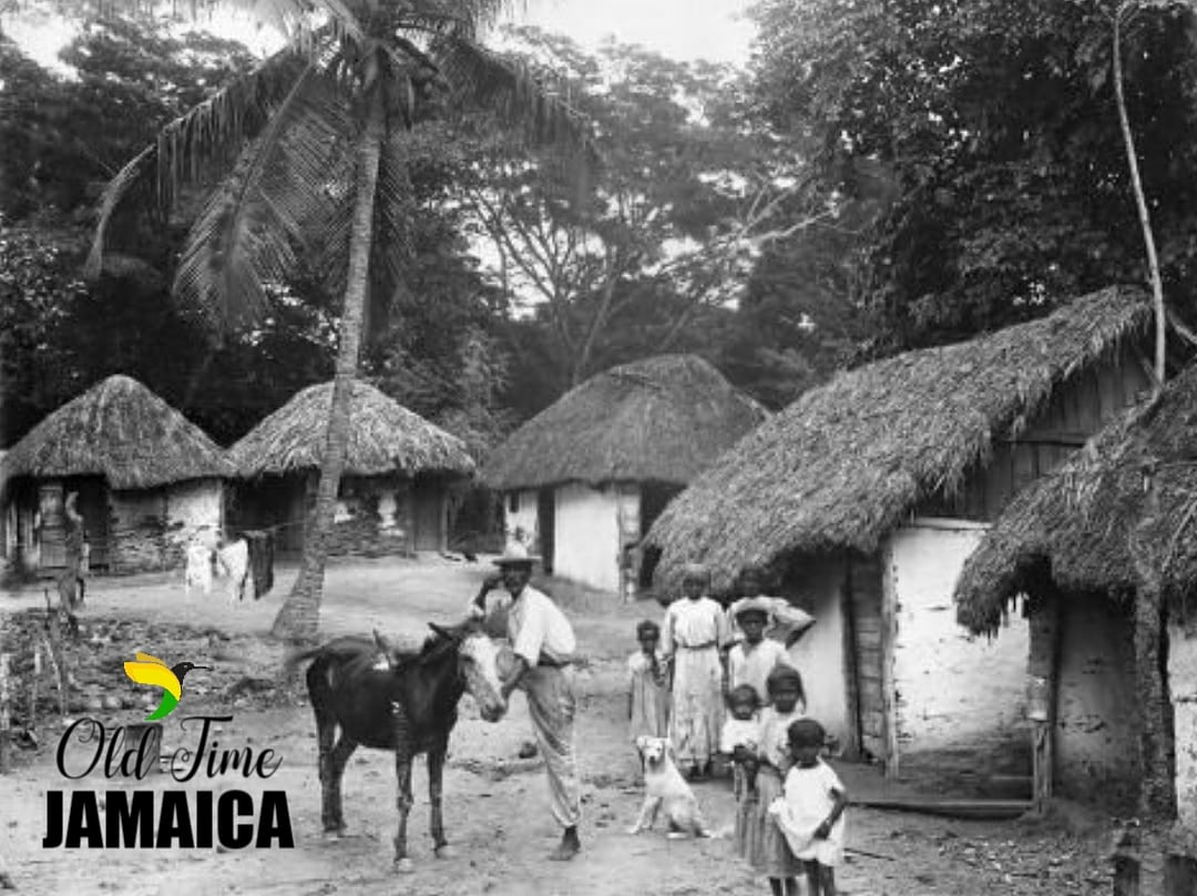 """OldTimeJamaica: A Family outside their home on """"Coolie Street"""", Kingston in 1931.  #throwbacktuesday #tbt #kingstonjamaica #waybackwhen #jamaicanhistory #ilovejamica #landofwoodandwater https://t.co/UCtWvw3nmc"""
