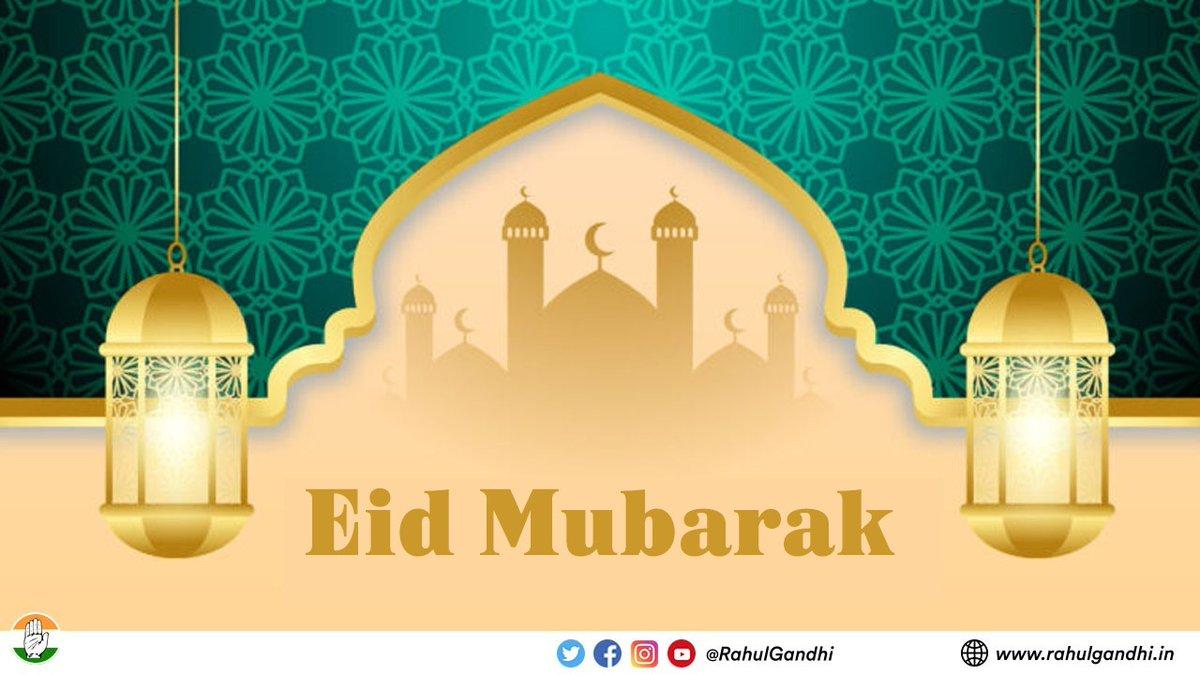 आप सभी को ईद-उल-अज़हा मुबारक हो!  #EidMubarak everyone. https://t.co/zGQKIjJb2E