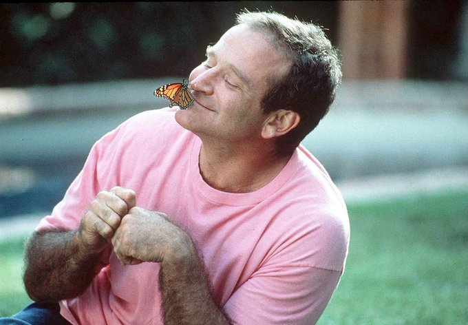 Happy heavenly birthday robin williams, we miss you.