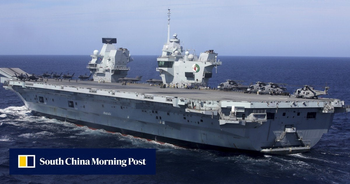 Britain will permanently deploy 2 warships in Asian waters after aircraft carrier visits in September Photo