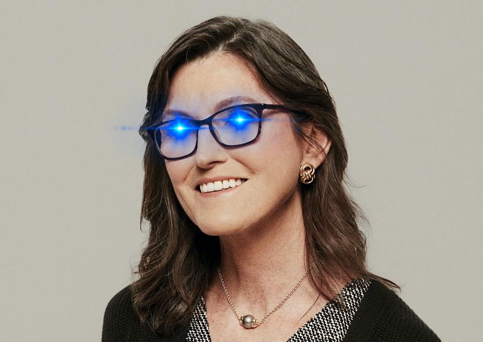@BitcoinMagazine's photo on Cathie Wood