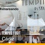 Image for the Tweet beginning: Seguimos de vinareo en Cádiz