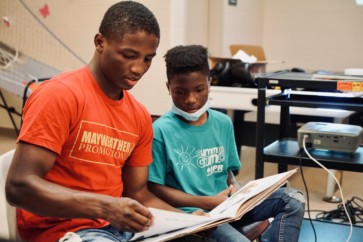 test Twitter Media - This Mayweather Promotions rising prospect is expanding his reach beyond the ropes of the ring. Jalil Hackett sees the bigger picture in helping those that are coming up behind him as he recently hosted a day camp in Washington, DC. #givingback #BacktoSchool2021 https://t.co/7eZPpXPr9a