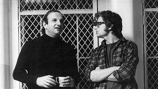 Happy Birthday to ONE FLEW OVER THE CUCKOO\S NEST producer Michael Douglas, here with screenwriter Bo Goldman.