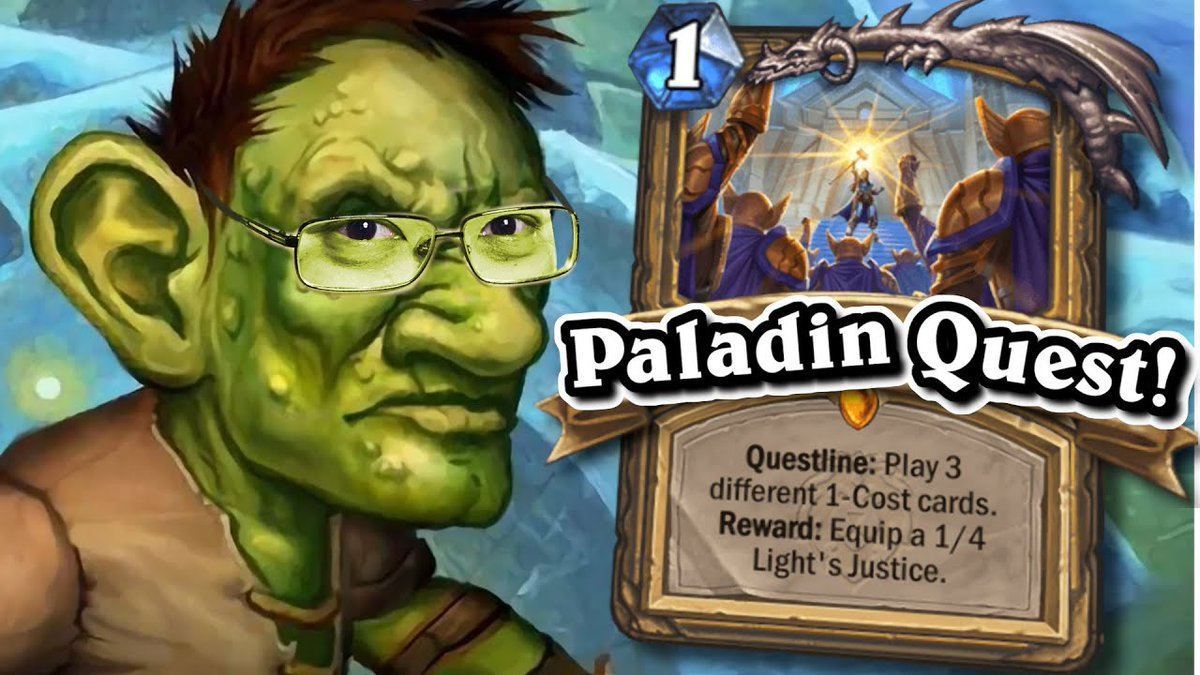 SICK Expansion Start w/ Quest Paladin!   United in Stormwind   Hearthstone https://t.co/LS53TE5Fu8 https://t.co/NbwONdfAPW
