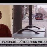 Image for the Tweet beginning: Transporte público pierde pasajeros como