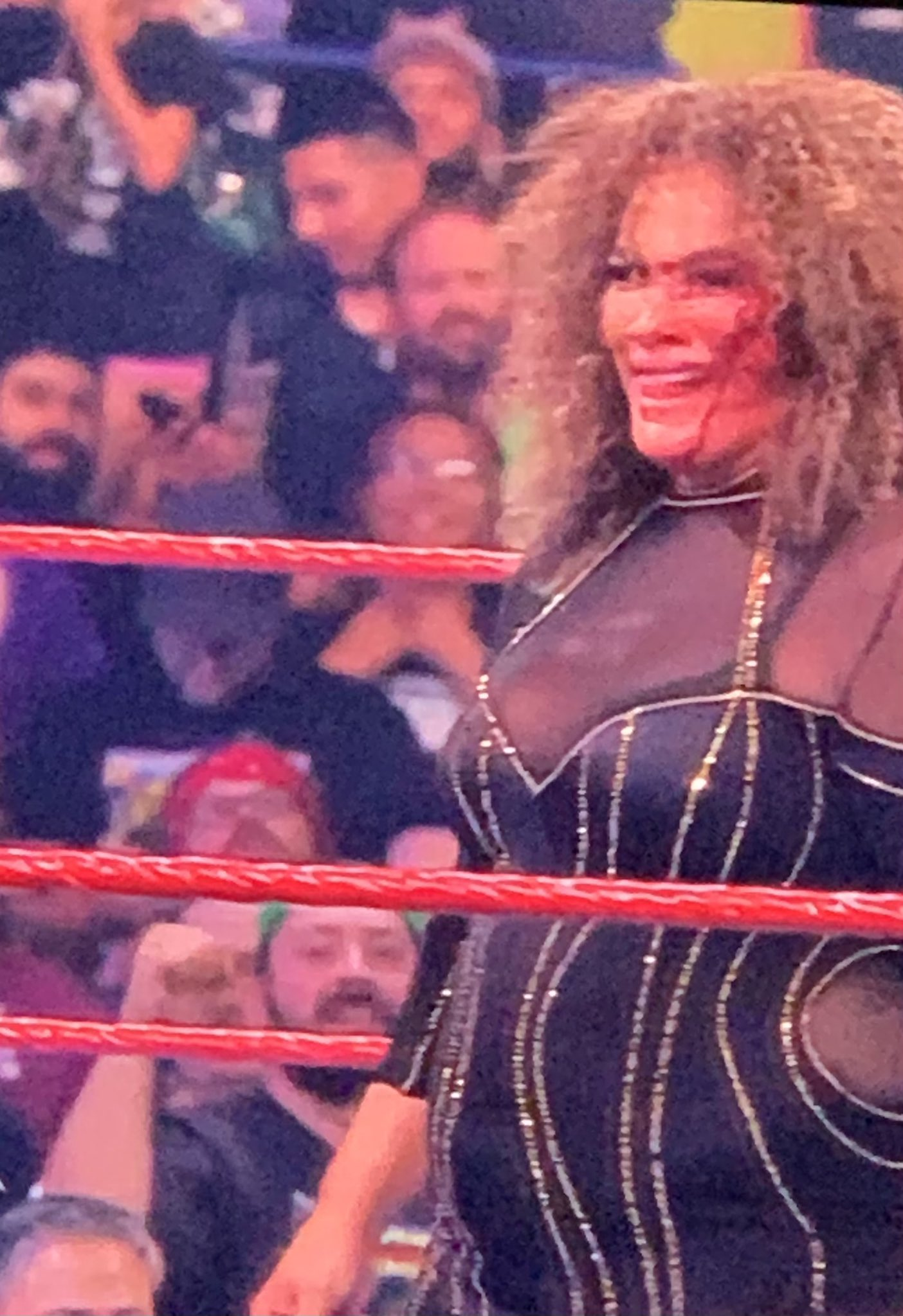 Nia Jax Got Busted Open During This Week's WWE Raw Episode 64