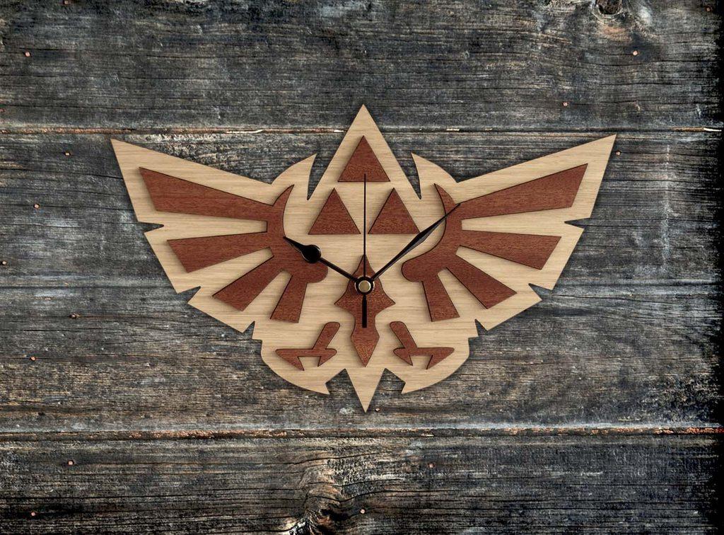 Handmade #WingCrest wooden clock #Zelda #Hyrule #interiorarchitecture - WorldwideShipping https://t.co/9JGp2TMRdE