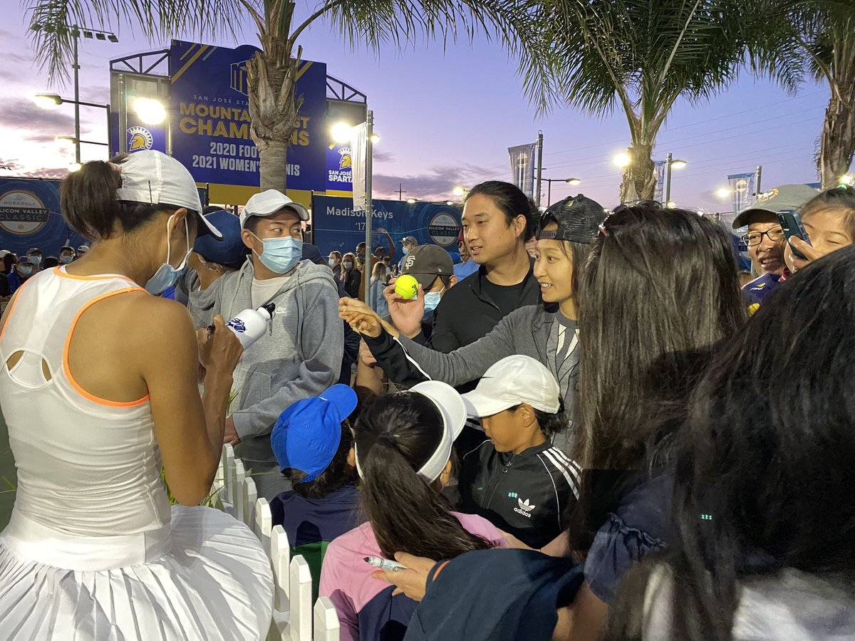 Look the fans , thank you to all of you for coming out here and supporting me tonight. We played very well tonight and the reason behind that is we had excellent fans! @MubadalaSVC