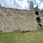I am at Framlingham Castle in Suffolk - it's bringing back great memories of being at Carisbrooke Castle with Year 6 - roll on next year!!