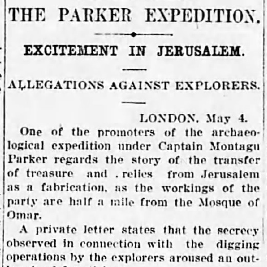 Sydney Morning Herald 6th May 1911