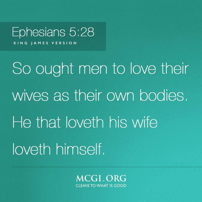 Love wives their men why Why does