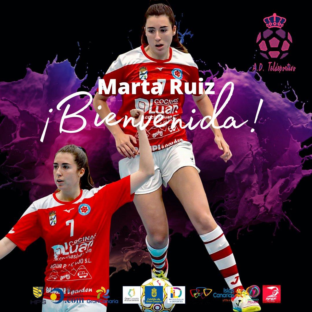 ImageEl Gran Canaria Teldeportivo ficha a la madrileña Marta Ruizn
