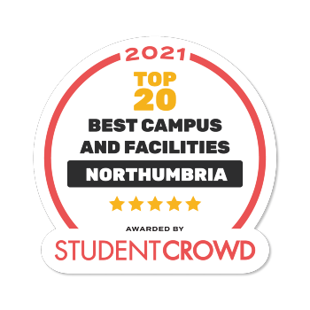 Northumbria has been recognised in the 2021 Best Universities awards by StudentCrowd, having ranked within the top 20 universities across the UK in the following categories: Campus and Facilities, Clubs and Societies, and Students Union.  https://t.co/X4nMVOoibf https://t.co/c53Vi8XoRO