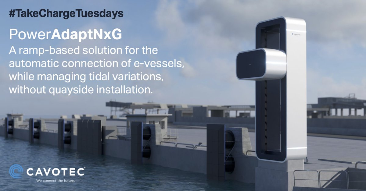 PowerAdaptNxG is our latest #shorepower solution for use with e-vessels. Download the full data sheet here: https://t.co/8eXZ0Xrcoz  #cleantech #maritimeindustry #sustainableInfrastructure  #ferry #ports #transportation #takechargetuesdays https://t.co/ZOq11jl2Bw