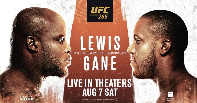 Derrick Lewis vs Ciryl Gane