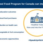 Image for the Tweet beginning: School food is about more