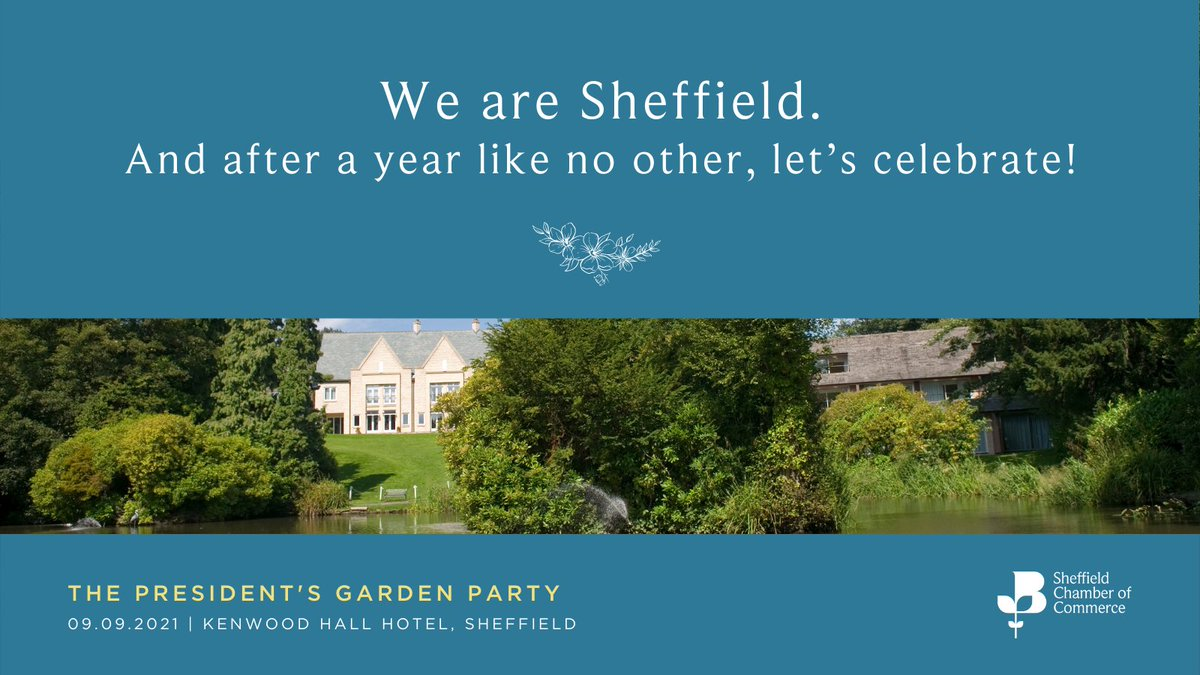 We can't wait to host this fabulous event! @sheffchamber