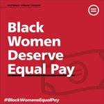 Image for the Tweet beginning: 💸It's #BlackWomensEqualPayDay. A Black woman
