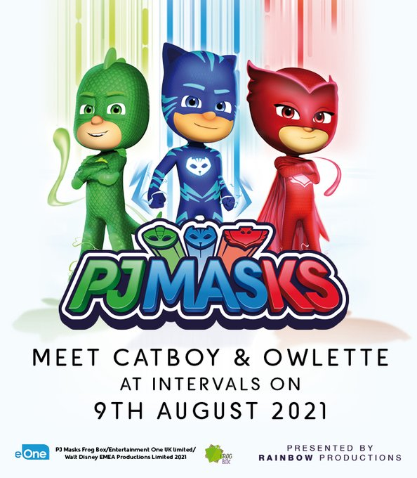 Get ready to see your favourite TV heroes, PJ MASK'S CATBOY & OWLETTE! This Monday 9th August, at intervals during the day, at The Hop Farm Family Park! Info here: https://t.co/271AjaBZiX @PJMasks #pjmasks #thingstodowithkids https://t.co/d3rwNlq...