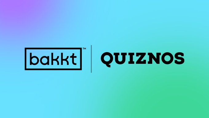 Bakkt partner with Quiznos to launch pay with bitcoin pilot in-store