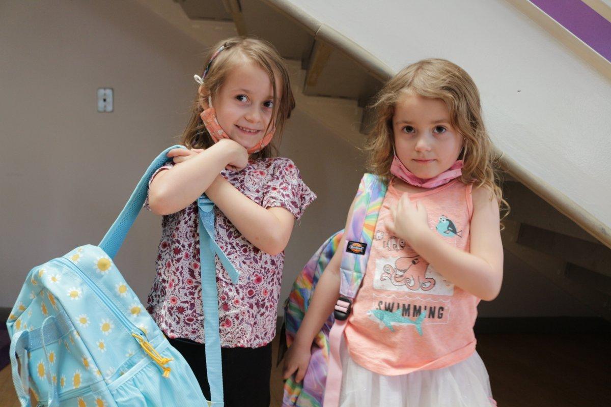 Such a privilege to help Homeward Bound send kids back to school with confidence. #BackpackBuddies @HomewardBoundAZ