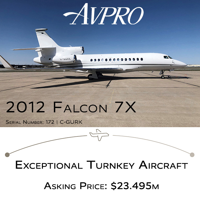 2012 #Falcon #7X available at @AvproJets   Fresh 1C inspection by Duncan-Lincoln New paint March 2021 by Duncan-Lincoln More details at: https://t.co/szDTLD3DkL  #bizjet #bizav #aircraftforsale #privatejet #privateflying #jetforsale #businessaviation