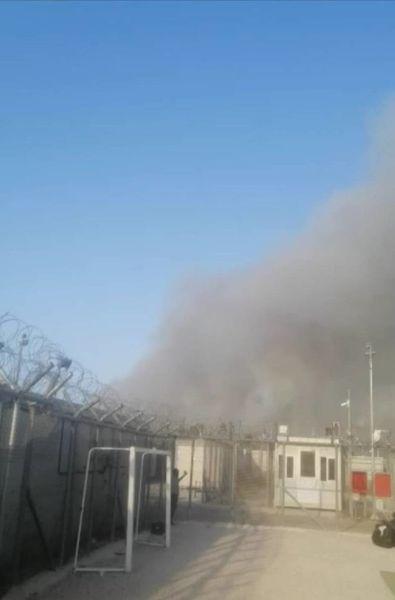 #φωτιά via @radiofragmata Viktoria Solidarity  Ενημέρωση σχετικά με τη φυλακή της Αμυγδαλέζας: Οι καπνοί έχουν γίνει πιο πυκνοί και οι έκλειστες/-οι μετανάστριες/-ες δεν έχουν εκκενωθεί ακόμα.  Η κατάσταση έχει χειροτερεύσει από το μεσημέρι  #antireport