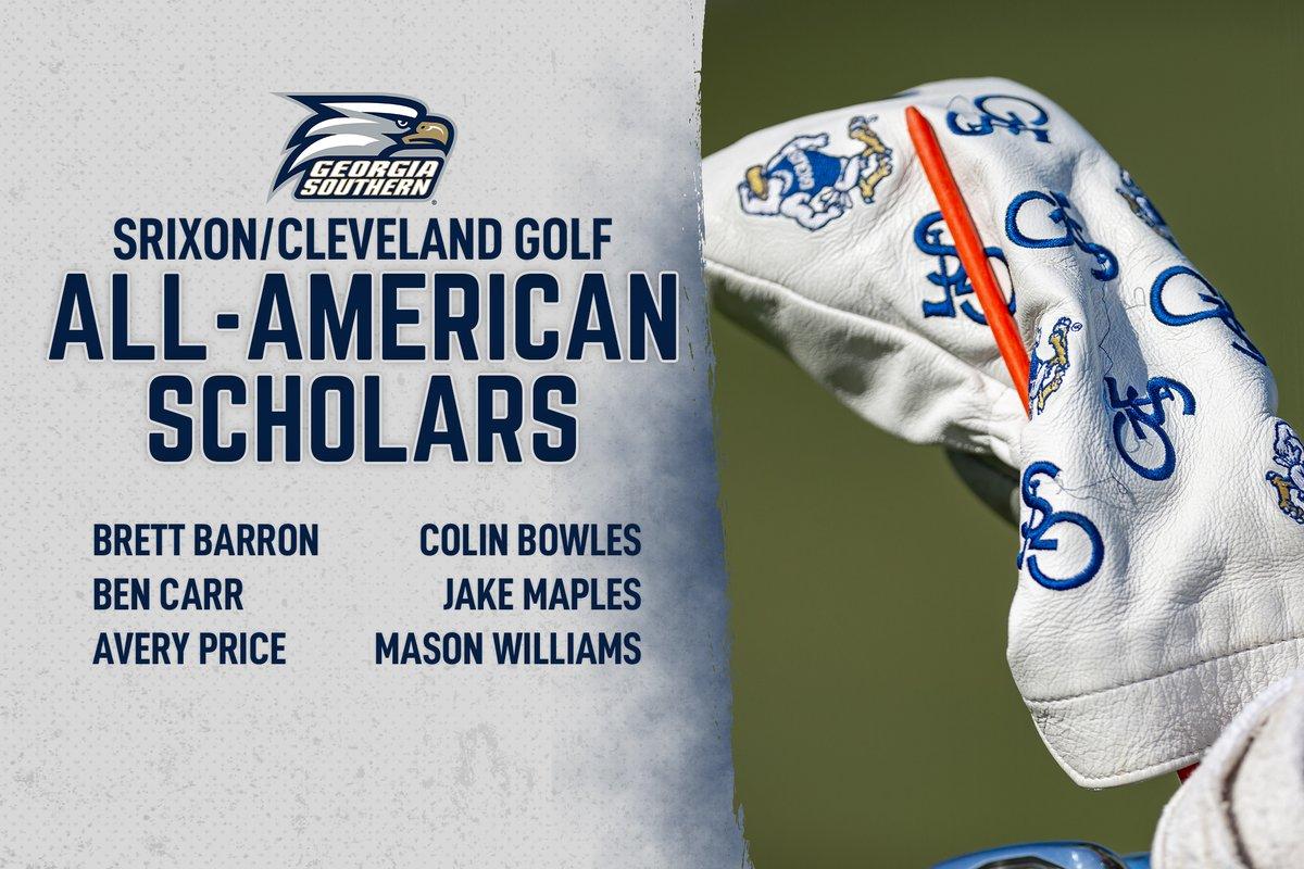 RT @GaSouthernGolf: News   Six Eagles Named Men's Golf All-American Scholars  https://t.co/OuLqUN40qY  #HailSouthern https://t.co/C6SukaVqIR