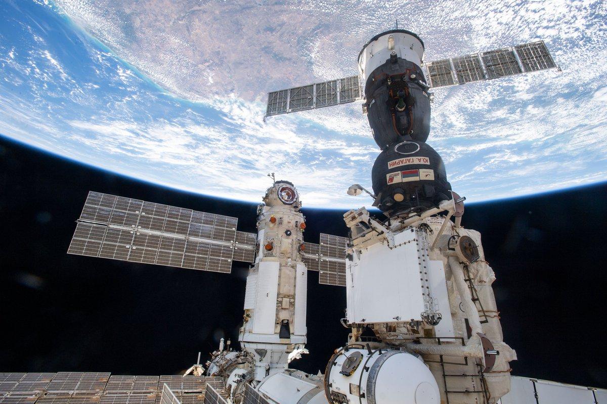 Módulo Nauka en la ISS