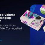 Image for the Tweet beginning: Drive scaled volume digital packaging