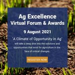 We are a proud partners for the upcoming @Ag_Excellence virtual forum and awards. There's still time to register. Go to Eventbrite for more information:  https://t.co/U73LZNN0lf