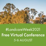 To celebrate #LandcareWeek2021 National Landcare Conference and Awards is free virtual forum this Thursday and Friday, 5-6 August. With 60 speakers covering a range of innovative topics. To find out more or register to attended visit: https://t.co/FYQUGoz0Op