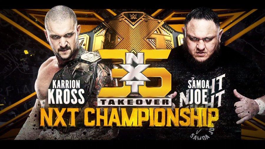 WWE NXT presents NXT TakeOver 36 https://pbs.twimg.com/media/E76LCUJXoAIUdir?format=jpg&name=900x900
