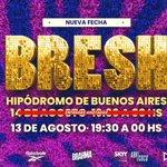 Image for the Tweet beginning: NUEVA FECHA BUENOS AIREEEES🌸🌸💖💖💖🔥🔥🔥   ENTRADAS