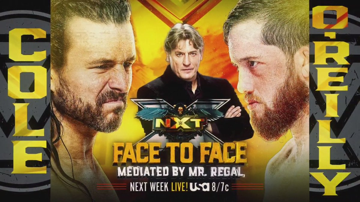 Adam Cole – Kyle O'Reilly Segment And More Announced For Next Week's NXT