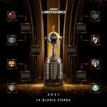 Image for the Tweet beginning: Flamengo, Olimpia, Barcelona, Fluminense, Atletico