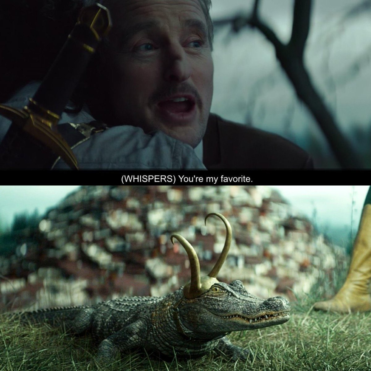 Same, Moby. Same.  So finally started Loki and I couldn't keep my eyes off Lokigator. Freaking adorable. https://t.co/IbAXbP9oc9