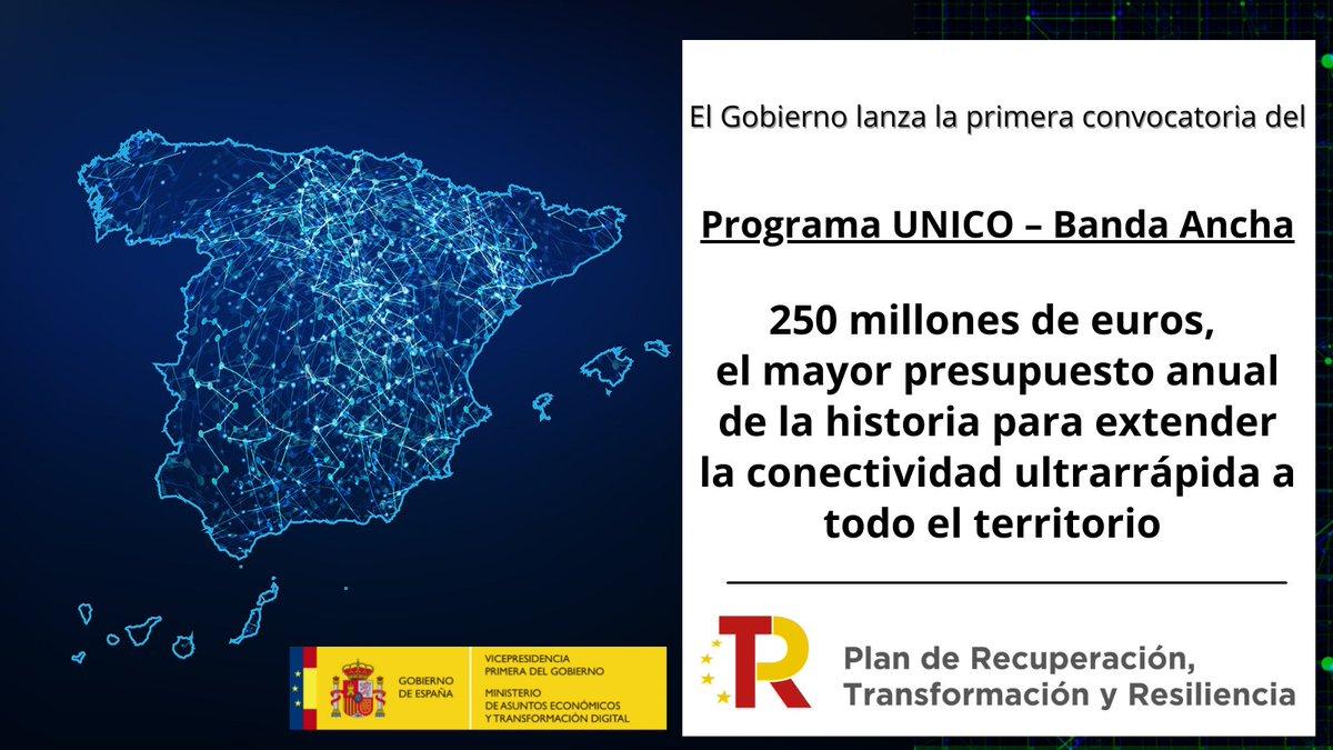 Twitter La Moncloa. 🌐El Gobierno lanza la primera convocat...: abre ventana nueva