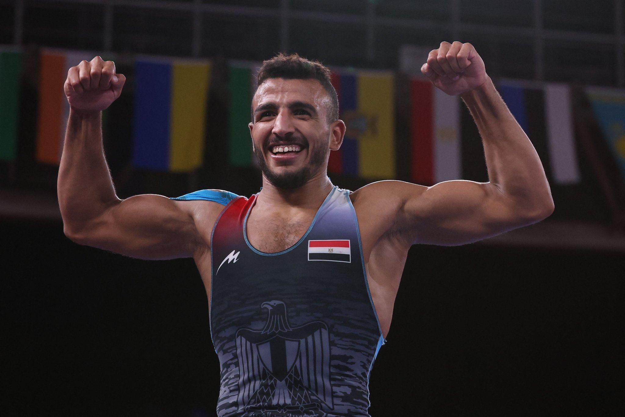 البطل الأولمبي محمد إبراهيم كيشو