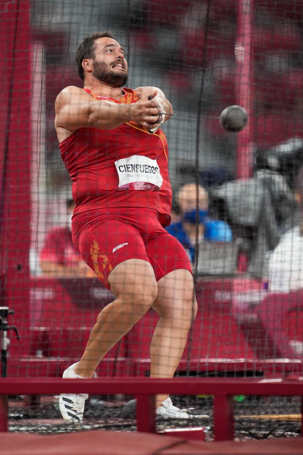 Atletismo: Cienfuegos, décimo en su primera final olímpica