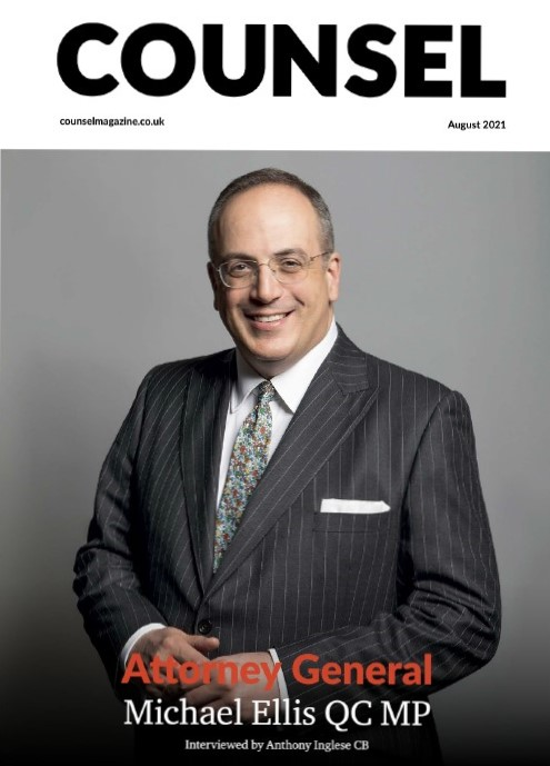 Attorney General @Michael_Ellis1 speaks to @counselmagazine about his journey from Northampton's criminal bar to the Cabinet table. lnprodstorage.z35.web.core.windows.net/Counsel/2021/0…