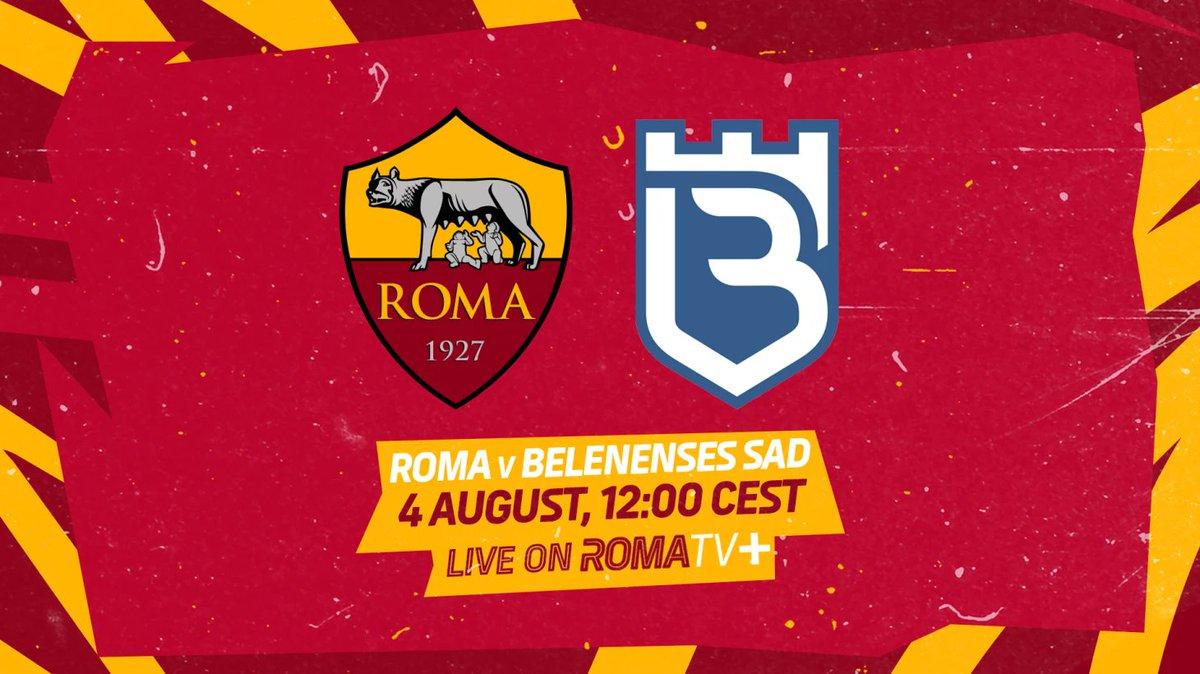 Belenenses vs AS Roma Highlights 04 August 2021