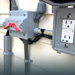 #SafetyTip: A GFCI, or Ground Fault Circuit Interrupter, should be used in any indoor or outdoor area where water may come into contact with electricity like kitchens, bathrooms, and garages.