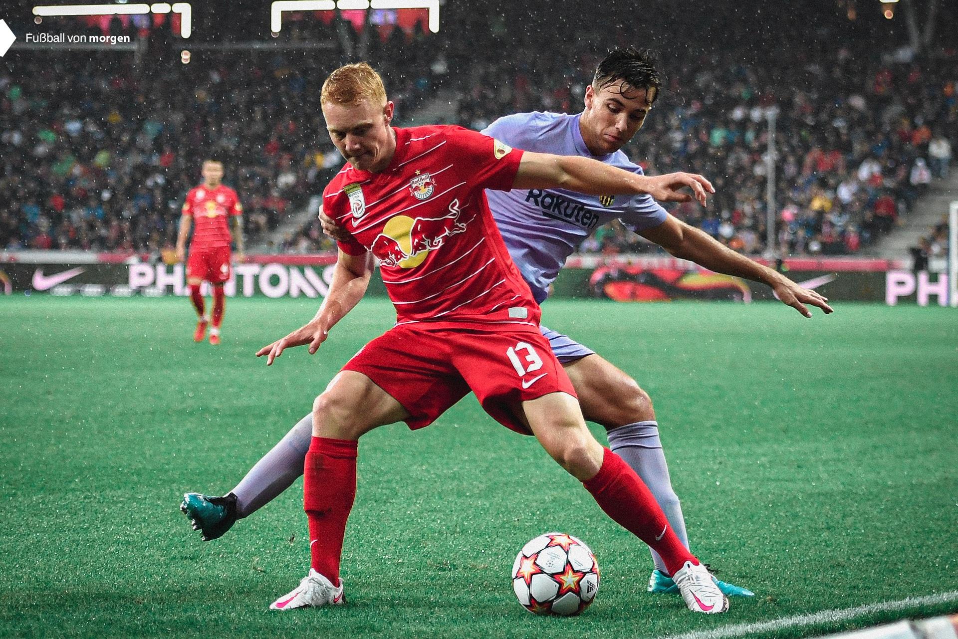 Barcelona vs Red Bull Salzburg 1-2 Amistoso Pretemporada 2021