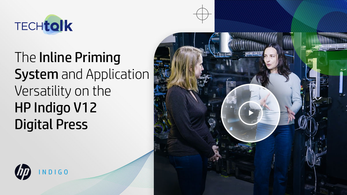 Discover the materials and processes our team of #HPIndigo experts developed for primers, varnishes, and lamination along with a new inline priming system for the utmost in label versatility here: