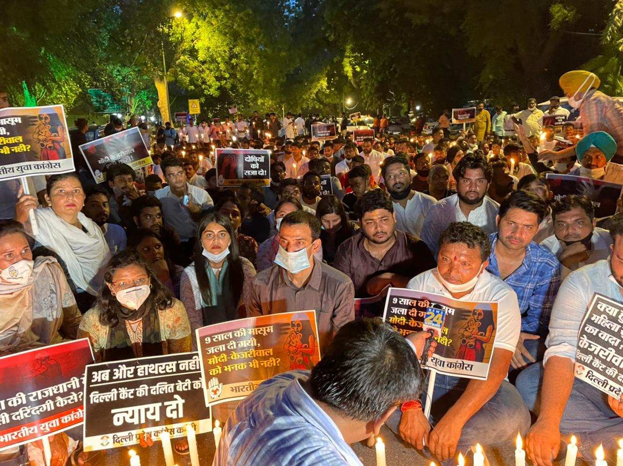 印度神官性侵焚屍賤民女童 總理沉默民眾怒燒肖像