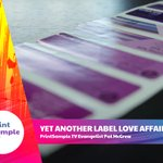 Image for the Tweet beginning: Labels took on new importance