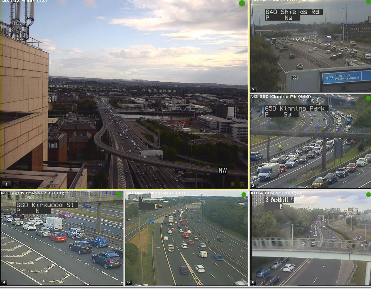 test Twitter Media - CLEAR❗️⌚️18:35  #M8 RTC  RTC now cleared from the M8 eastbound J19 to J18. All lanes running✅  Traffic remains heavy back to J27. Delays approx 25 mins. This will take time to ease.  @SWTrunkRoads @GlasgowCC https://t.co/p6G11XWiON